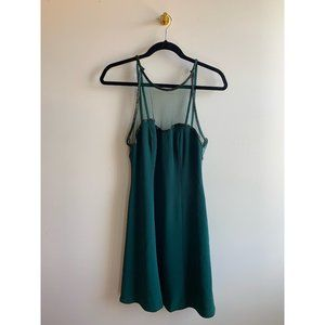Niteline Della Roufogali Green Dress with Beading